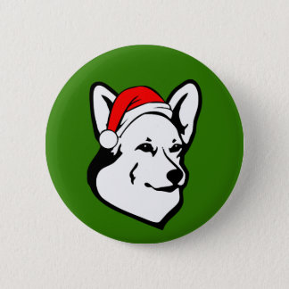 Pembrokewalisercorgi-Hund mit Runder Button 5,1 Cm