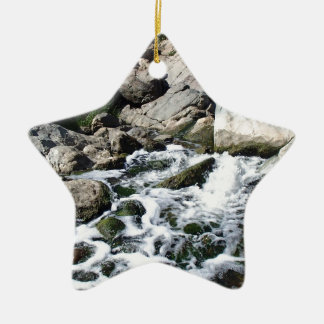 Penasquitos Wasserfall Keramik Stern-Ornament