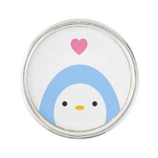 Penguin im Liebe-Revers-Button Anstecknadel