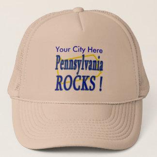 Pennsylvania-Felsen! Truckerkappe