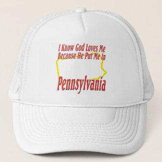 Pennsylvania - Gott-Lieben ich Truckerkappe