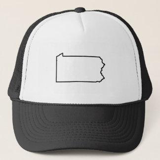 Pennsylvania-Staats-Fernlastfahrer-Hut Truckerkappe