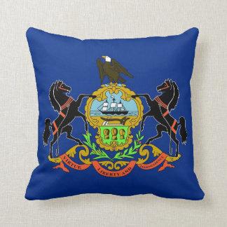 Pennsylvania-Staats-Flaggen-Amerikaner MoJo Kissen
