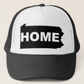 Pennsylvania-Zuhause weg von Staats-T - Shirt Truckerkappe