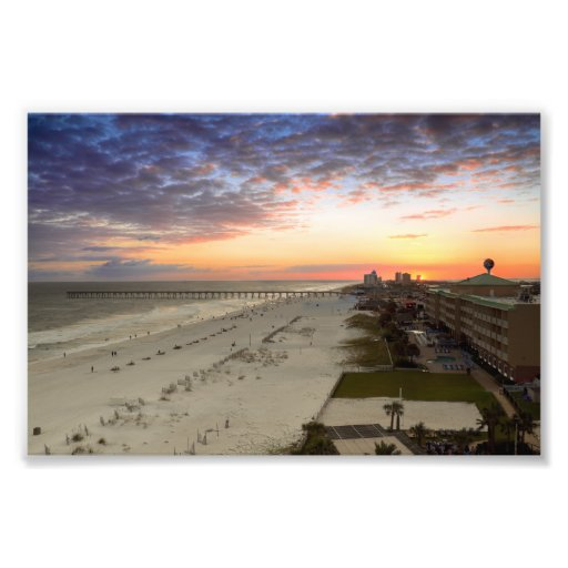 Pensacola-Strand-Sonnenuntergang Photodrucke