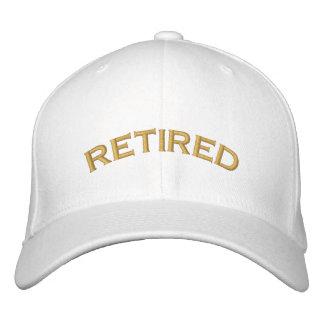 Pensionierte gestickte Kappe