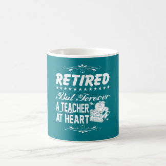 Pensionierter Lehrer Tasse