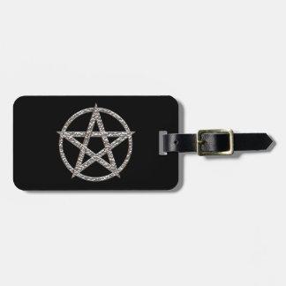 Pentagram gehämmerter Chrom-Umbau für Gepäck Gepäckanhänger