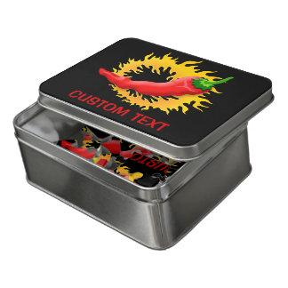 Peperoni mit Flamme Puzzle