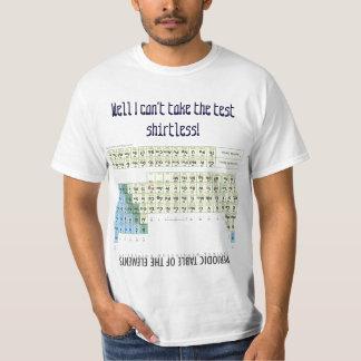 Periodensystem-Chemie-Spickzettel Tshirts
