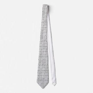 Periodensystem der Weine Bedruckte Krawatten