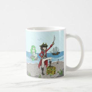 Perle und die Piraten-Tasse 1 Kaffeetasse