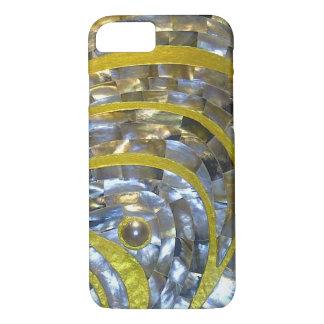 Perlen-/Goldentwurf dünner leichter iPhone 7 Fall iPhone 8/7 Hülle