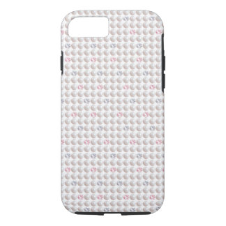 Perlen-rosa Diamant iPhone 8/7 Hülle