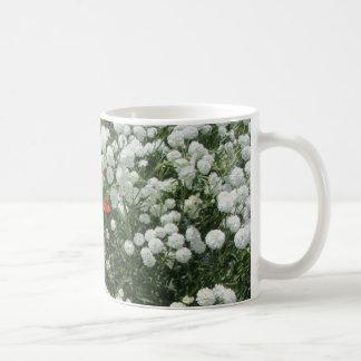 Perlen-Schafgarbe-Malteserkreuz Kaffeetasse