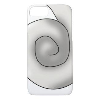 Perlen-Seepferd-Schwanz iPhone 8/7 Hülle