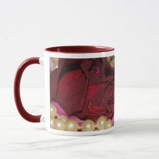 Perlen und Rosen Tasse