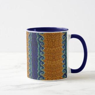 Perlen-Wellen-Muster-Tasse Tasse