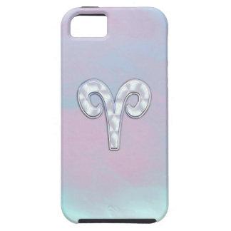Perlmuttwidder-Tierkreis-Symbol-Dekor iPhone 5 Etui