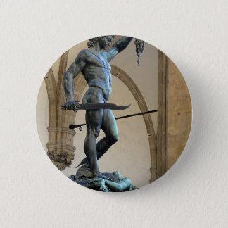 Perseus Runder Button 5,1 Cm