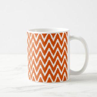 Persimone-asiatische Stimmungen Ikat Sparren Kaffeetasse