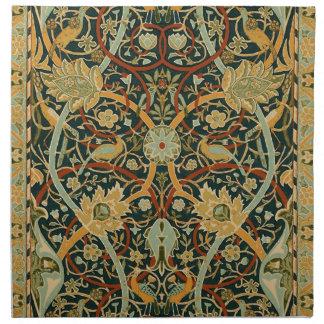 Persischer Teppich-Kunst-Druck-Entwurf William Stoffserviette