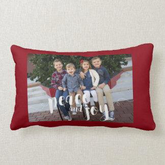 Personalisiert, Foto-Feiertagthrow-Kissen Zierkissen