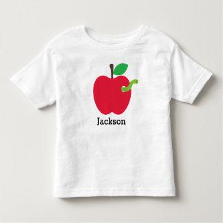 Personalisiert zurück zu Schulapple-Shirt Kleinkind T-shirt