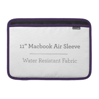 Personalisierte 11in Macbook Luft-Hülse MacBook Sleeves
