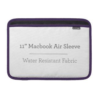 Personalisierte 11in Macbook Luft-Hülse MacBook Sleeves