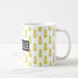 Personalisierte Ananas Tasse