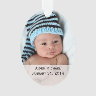 Personalisierte Baby-Foto-Verzierung