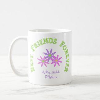 Personalisierte beste Freund-für immer Tasse