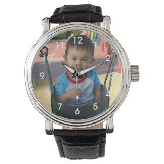 Personalisierte Foto-Armbanduhr Uhr