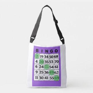 Personalisierte glückliche BINGO Tasche mit lila