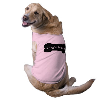 Personalisierte Haustier-Kleidung für Ihren Hund Ärmelfreies Hunde-Shirt