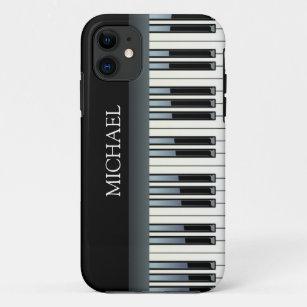 Personalisierte Klavier-Schlüssel iPhone 11 Hülle