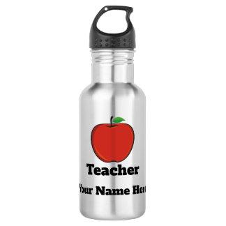 Personalisierte Lehrer-Apple-Wasser-Flasche Trinkflasche