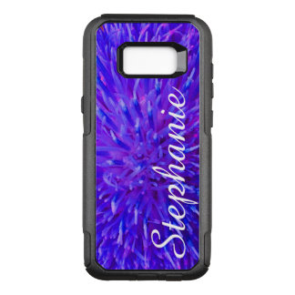 Personalisierte lila abstrakte Samsungs-Galaxie OtterBox Commuter Samsung Galaxy S8+ Hülle