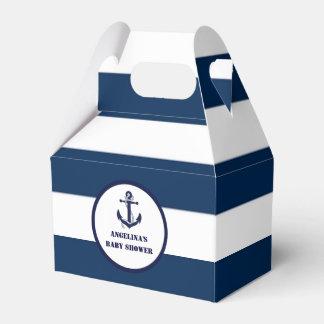 Personalisierte Marine-blauer Geschenkschachtel