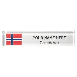 Personalisierte Name und Gewohnheitstitel Schreibtischplakette