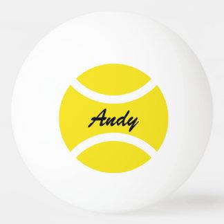 Personalisierte Namensping pong Tischtennisbälle Tischtennis Ball