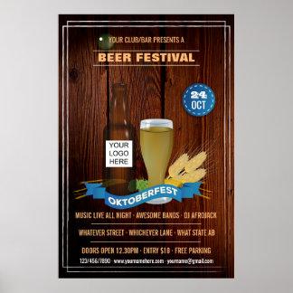 Personalisierte Octoberfest Verein/Pub/Firma Poster
