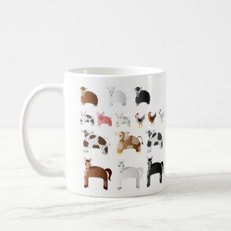 Personalisierte Spaß-Vieh Tasse