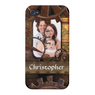 Personalisierte steampunk Maschinerie iPhone 4/4S Cover
