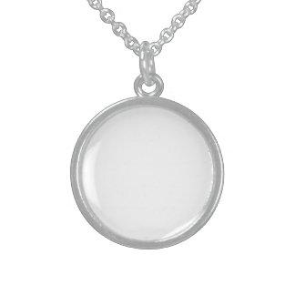 Personalisierte Sterling Silber Halskette