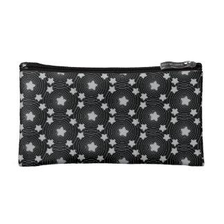 Personalisierte Stern-Art-silbernes Makeup-Tasche