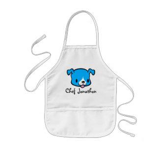 Personalisierte Welpen-HundeSchürze für Kinder Kinderschürze