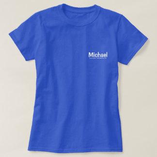 Personalisierter Angestellter T-Shirt
