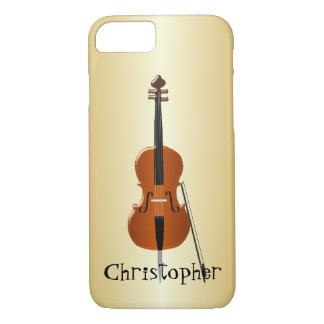 Personalisierter Cello-Entwurf iPhone 8/7 Hülle